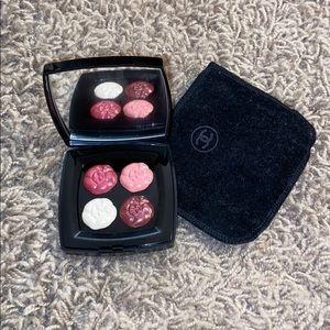 Auth 4 Camelias de Chanel Roses Lip Palette RARE